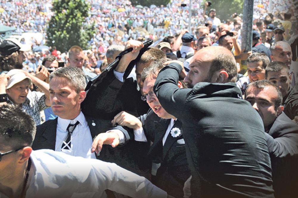 POLICIJA U BIH NA TRAGU NA TRAGU NAPADAČIMA IZ POTOČARA: Antidejtonski pokret hteo da linčuje Vučića
