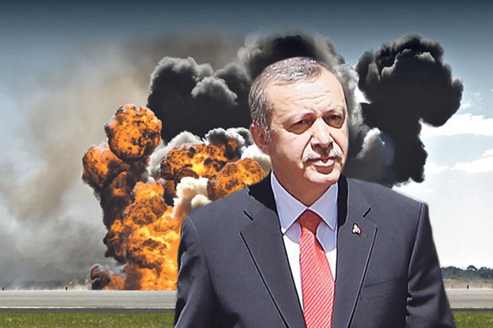 Tajip Erdogan: Uništićemo teroriste Kurde!