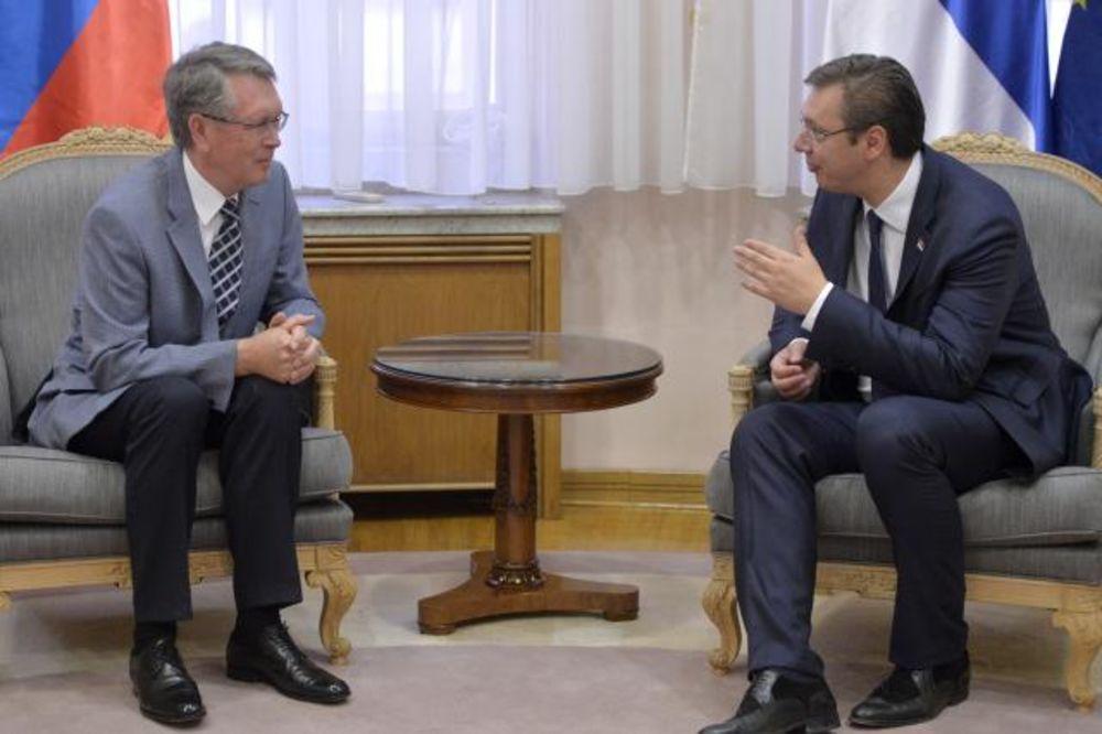 Vučić i Čepurin o saradnji Srbije i Rusije