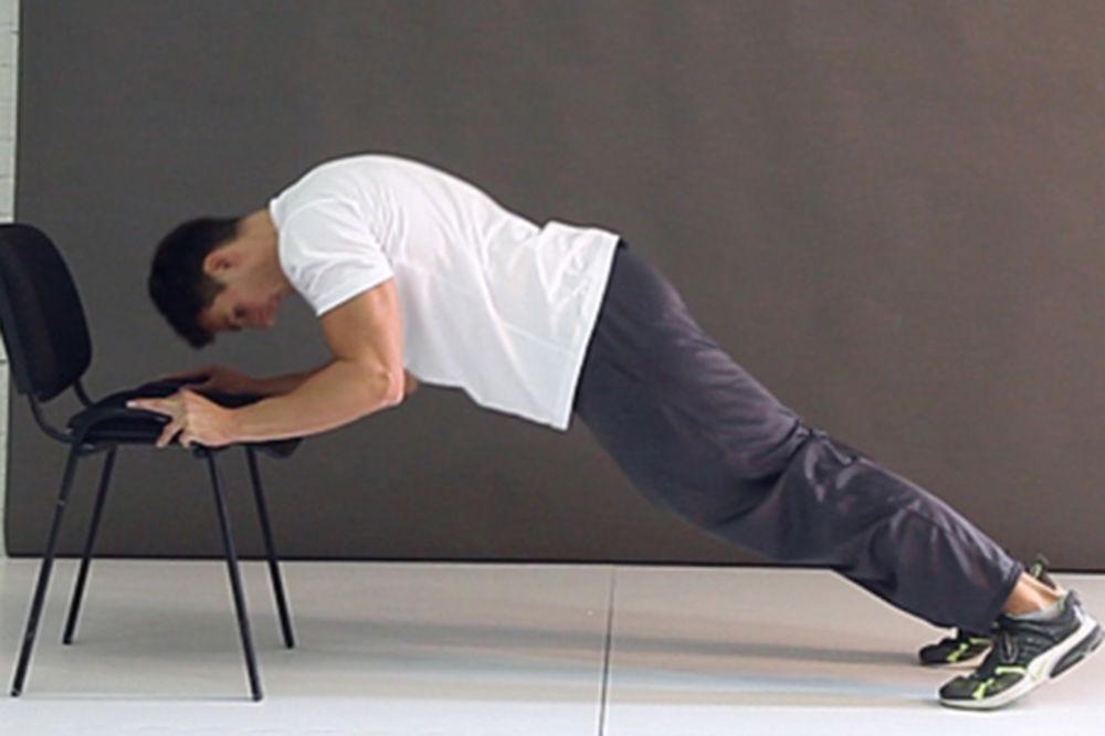 Vežbe za triceps bez tegova