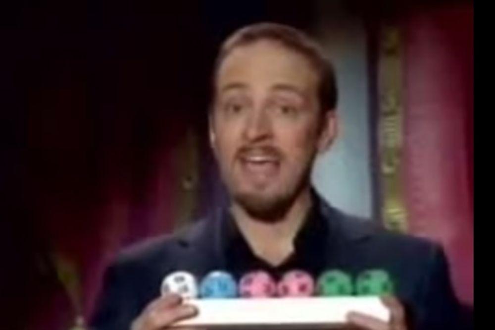 (VIDEO) POGODIO LOTO SEDMICU MATEMATIKOM: Iluzionista otkrio formulu dobitka glavne premije!