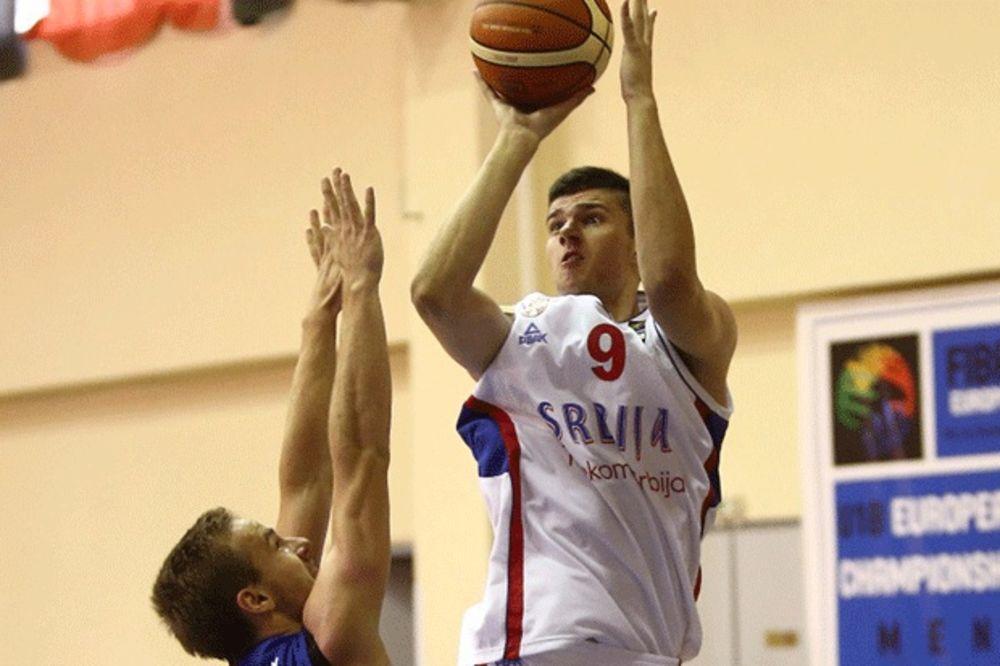 ORLIĆI BOLJI OD ČEŠKE: Mladi srpski košarkaši pobedom završili drugu fazu na EP