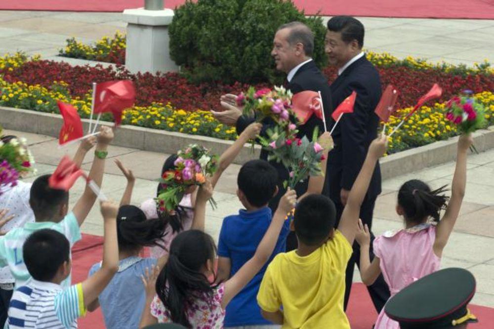 ERDOGAN I SI ĐINGPING: Svetla budućnost odnosa Turske i Kine