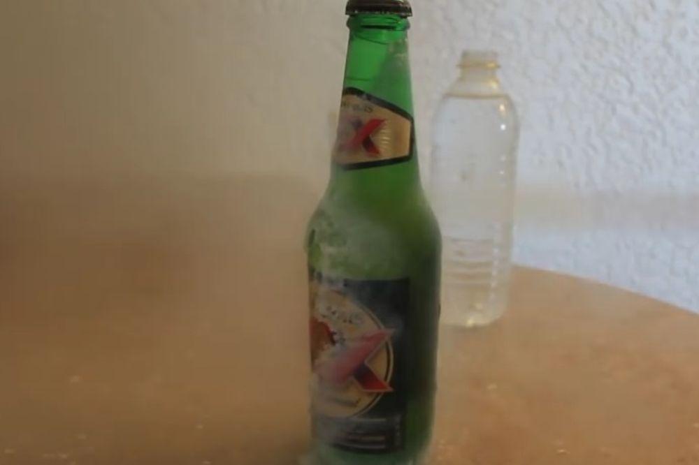 (VIDEO) IDEALNO ZA LETNJE VRUĆINE: Kako ohladiti pivo za nekoliko sekundi