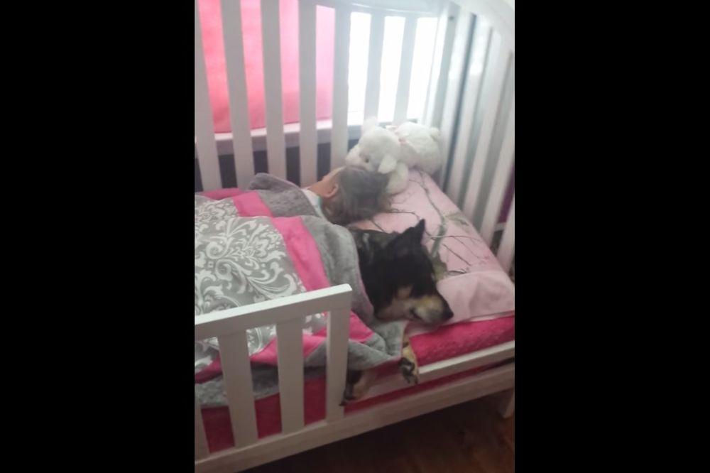 (VIDEO) SNIMAK KOJI TOPI SRCE: Evo šta je mama zatekla u krevecu svoje bebe!