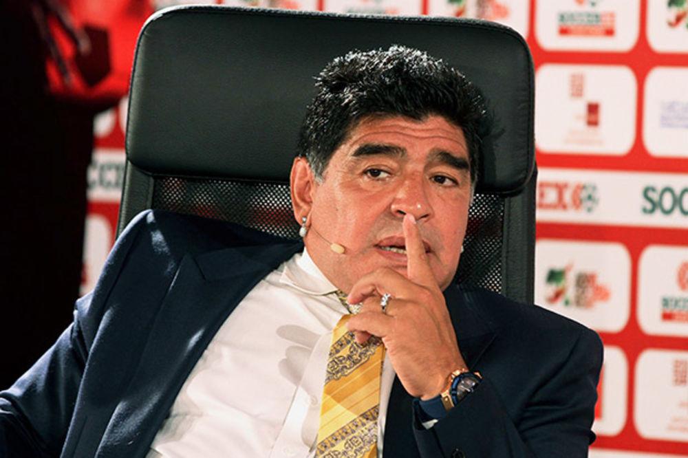 MARADONA: Moja je dužnost da se borim sa mafijom u FIFA
