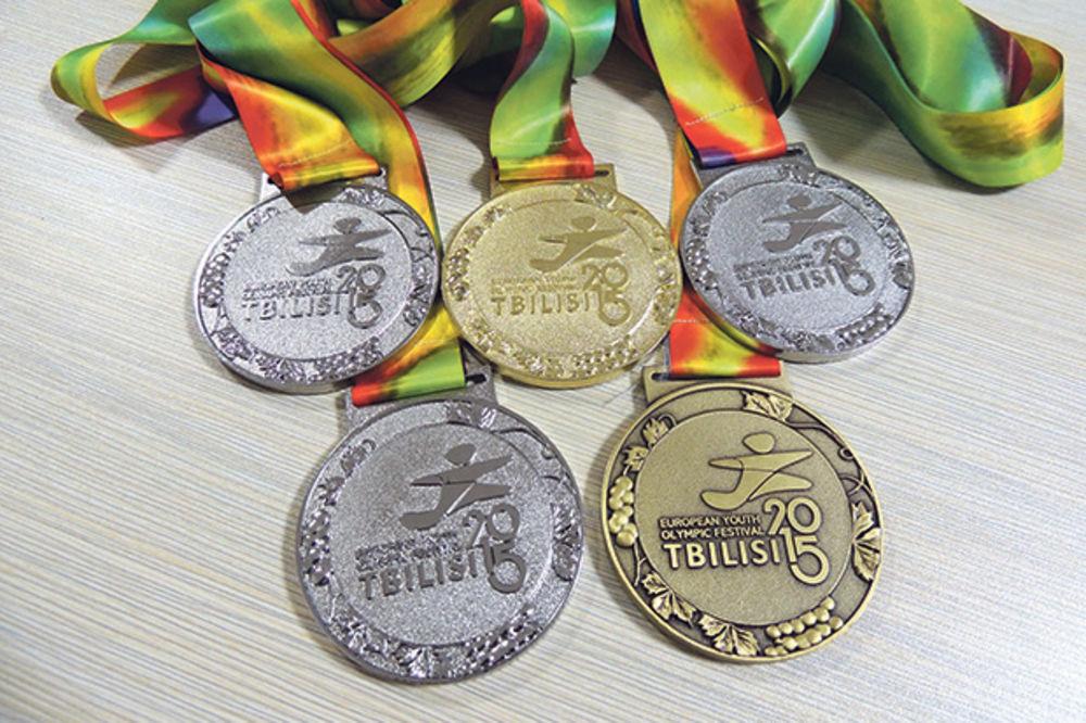 SRBIJI PET MEDALJA NA EYOF: Dominacija mladih sportista!