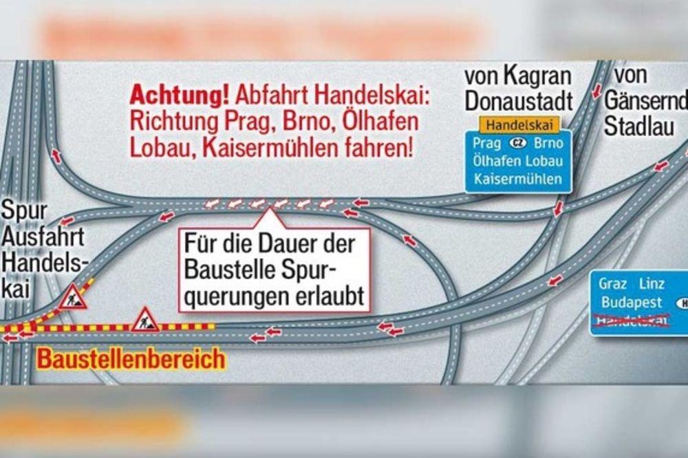 VOZAČIMA ĆE TREBATI STRPLJENJA: Spremite se na velike gužve prilazima Beču!