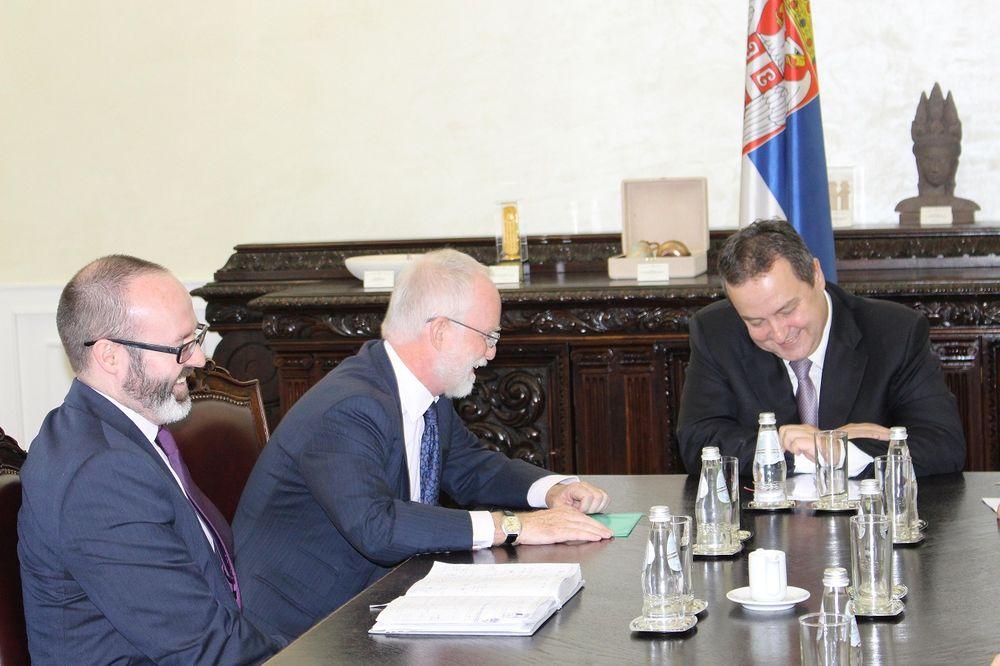PODRŠKA: Dačić i Kif o saradnji Srbije i Velike Britanije