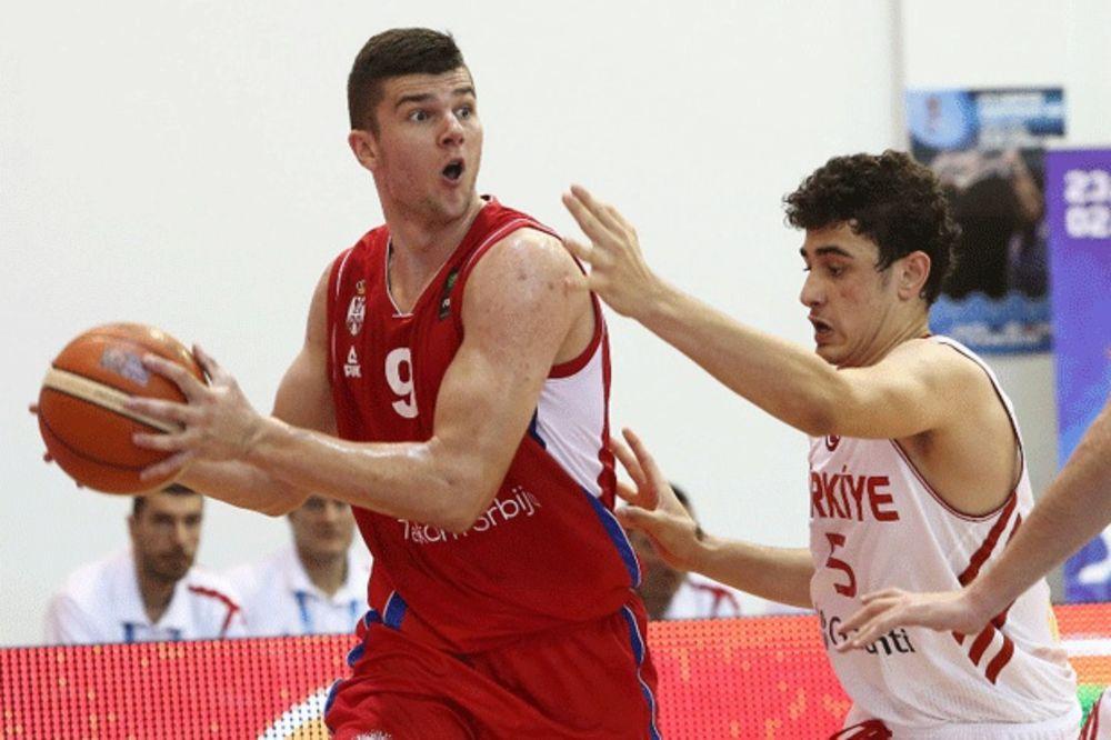 PROKLETSTVO: Srpski juniori treću godinu zaredom izgubili od Turske na Evropskom prvenstvu