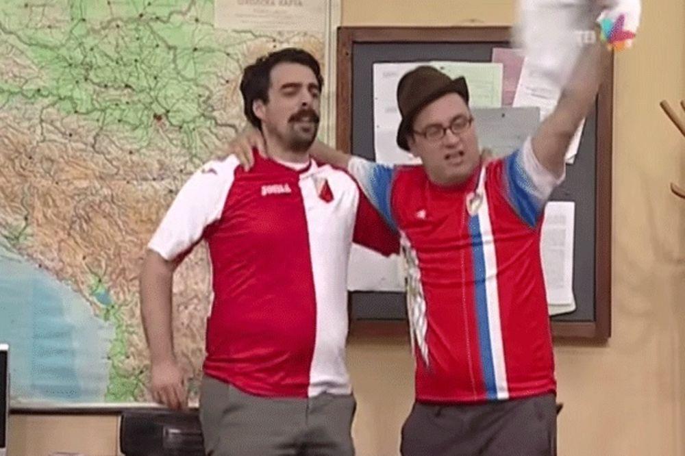 (VIDEO) I U DRŽAVNOM POSLU LUDI ZA VOŠOM: Pogledajte kako su Torbica i Čvarkov slavili uspeh Lala