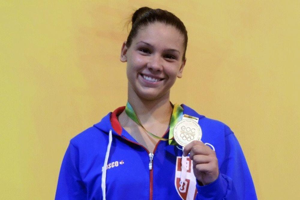 TRI MEDALJE ZA SRBE: Zlato za Jovanu u džudou, a bronze za atletičarku Katarinu i plivača Aleksu