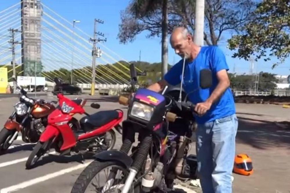 (VIDEO) TROŠI LITAR VODE NA 500 KILOMETARA: Brazilac napravio motor koji ne ide na benzin!