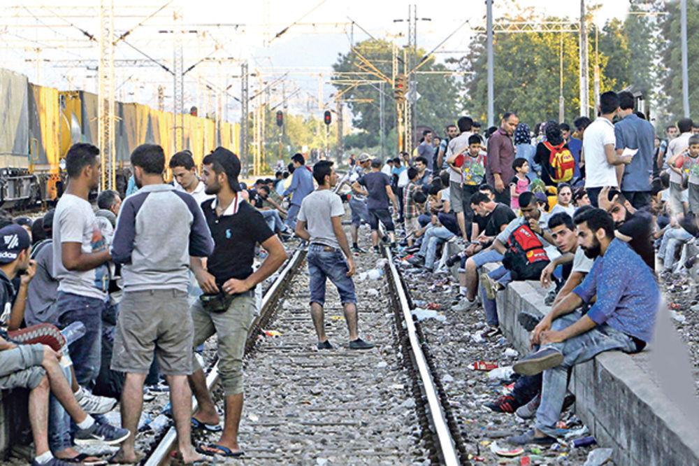 SVE VIŠE IZBEGLICA: Migranti će uskoro islamizirati Srbiju