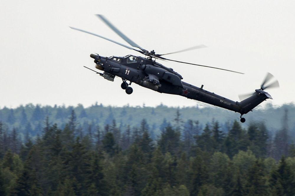 (VIDEO) JEDAN PILOT POGINUO: Pao helikopter na aeromitingu u Rusiji