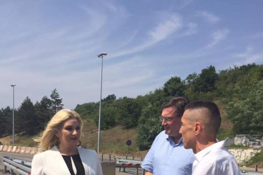 (FOTO) PROVERA: Zorana Mihajlović iznenada posetila naplatnu rampu Bubanj Potok