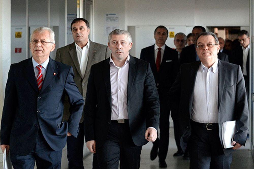 DRAMA NA MARAKANI: Terzić i Božović ponudili ostavke, Upravni odbor ih odbio