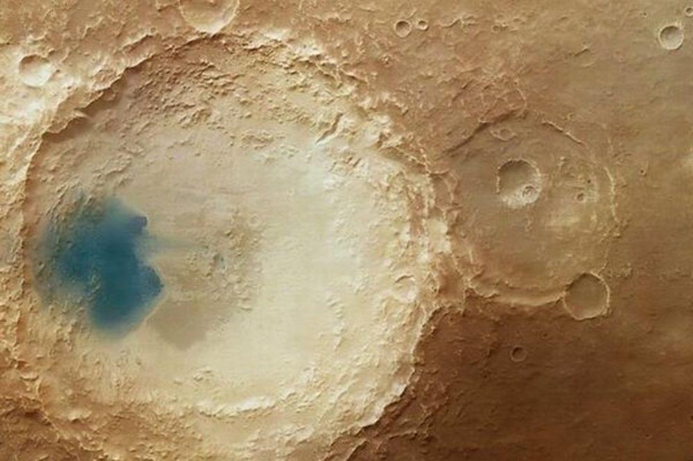 Šta su plave površine na Marsu?