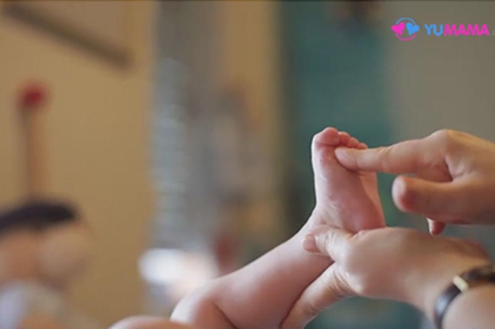 Saveti fizioterapeuta: Opuštajuća masaža za bebe