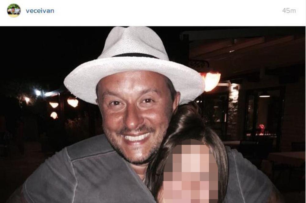 (FOTO) Ivan Ivanović podelio zanimljivu fotografiju sa ćerkom: Ja sam tata kengur!