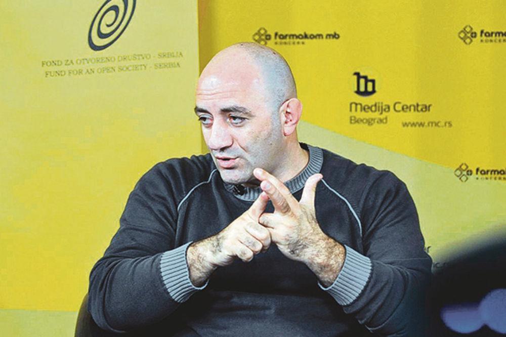 Zoran Dragišić, profesor na Fakultetu za bezbednost