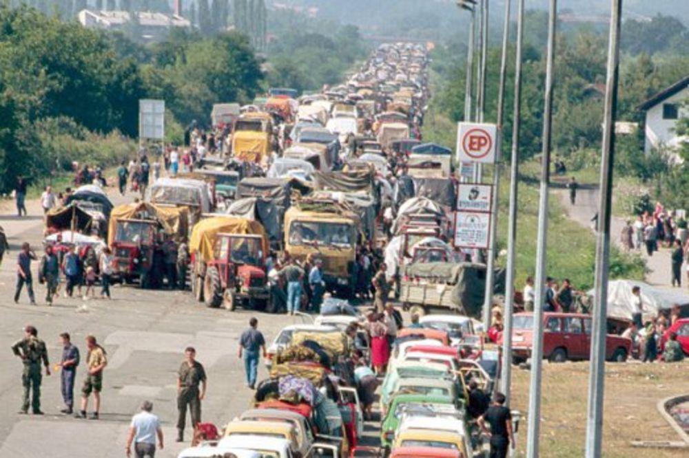 DA SE OLUJA NIKAD NE ZABORAVI: Evo kako Srbija danas obeležava Dan žalosti