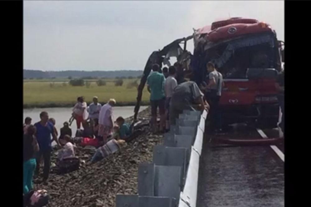 DRAMA NA AUTO-PUTU U RUSIJI: 16 mrtvih i 60 ranjenih u čeonom sudaru dva autobusa