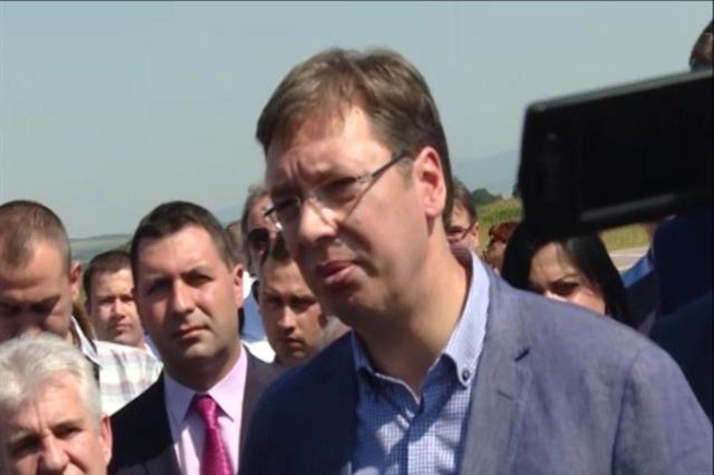 VUČIĆ: Srbija višše neće da se stidi zato ššto pošštuje svoje žžrtve!