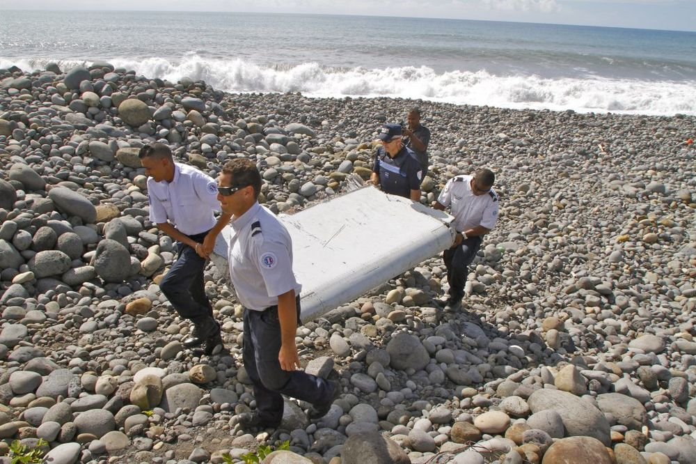 ISTRAŽITELJI SIGURNI: Pronađeno krilo pripada malezijskom avionu