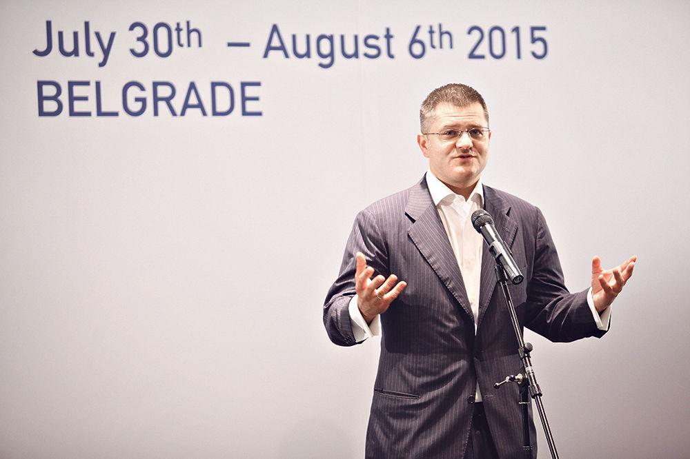 Vuk Jeremić dodelio diplome polaznicima CIRSD