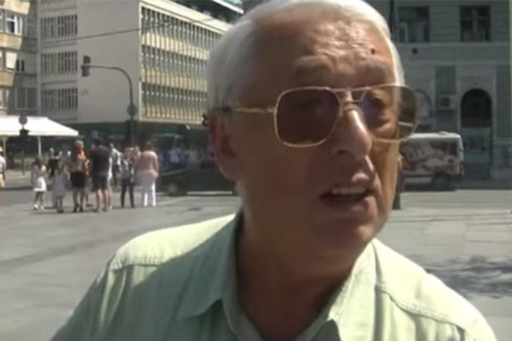 (VIDEO) BEZ DLAKE NA JEZIKU: Iskrene reči penzionera iz Sarajeva zapalile region