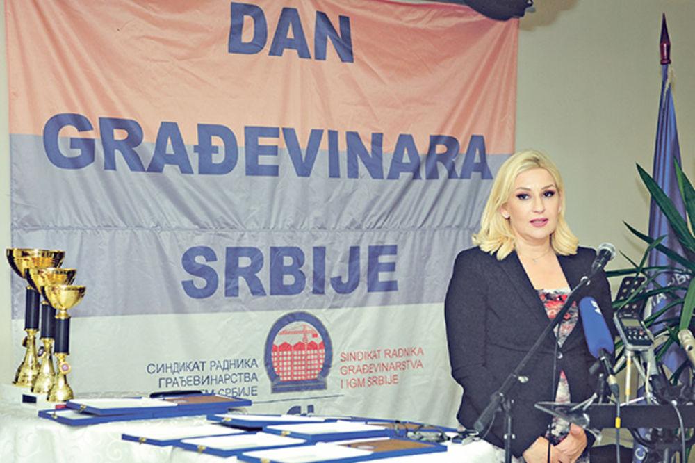 TUŽAN PRAZNIK GRAĐEVINARA: Nema posla ni u Srbiji ni u svetu