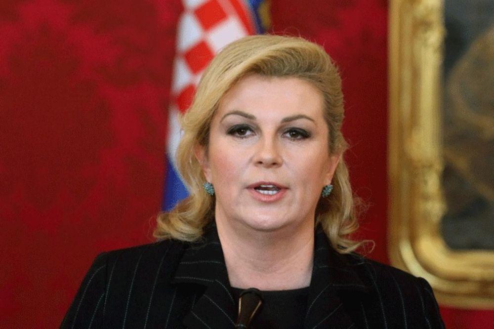 KOLINDI PADA REJTING: Hrvatska predsednica sve nepopularnija!