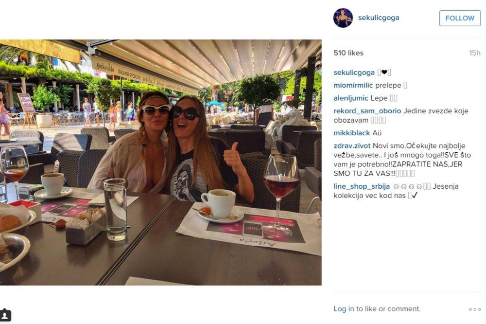 NA ESTRADI IPAK POSTOJI PRIJATELJSTVO: Ana i Goga zajedno uživaju u Crnoj Gori!