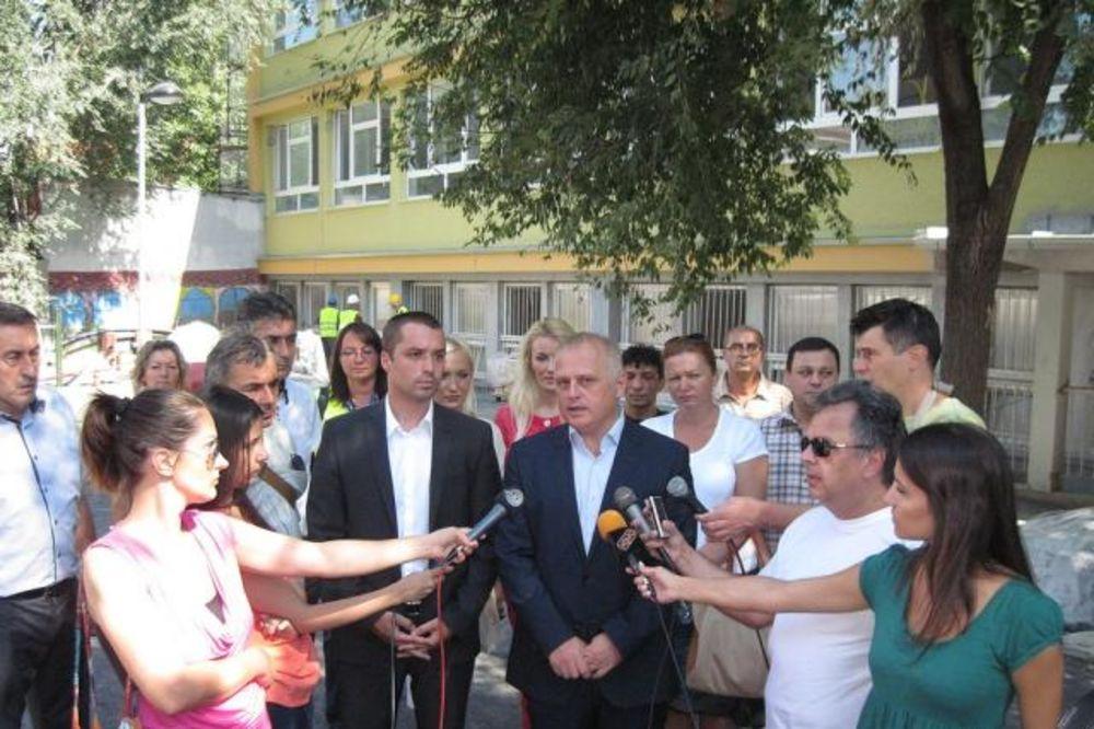Vesic đaci Od 1 Septembra U Renoviranoj Skoli Ivan Goran Kovacic