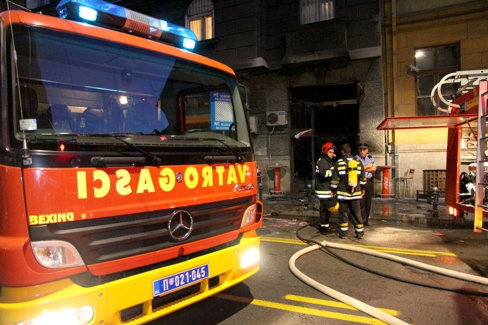 BEOGRAD: Muškarac teško povređen u požaru u Ulici Jovana Rajića