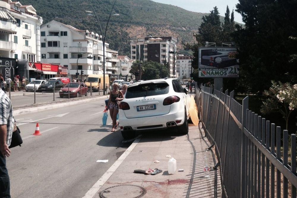 BUDVA: Albanac (33) koji je poršeom pokosio srpske turiste predao se CG policiji!