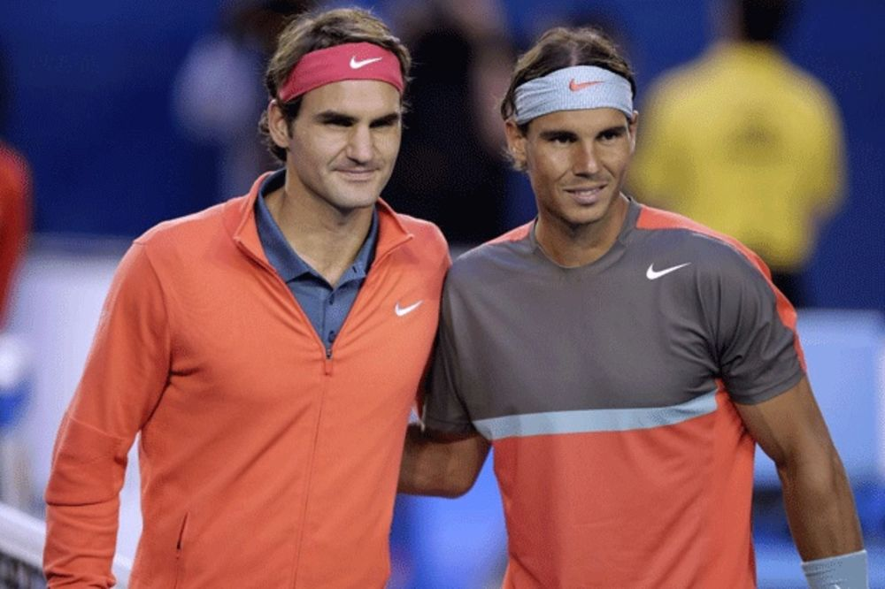 TANDEM SNOVA: Federer i Nadal će igrati dubl na premijernom Lejver kupu