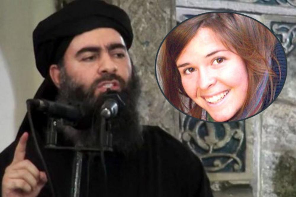 IŽIVLJAVAO SE: Vođa Islamske države besomučno silovao Amerikanku pre nego što su je ubili!