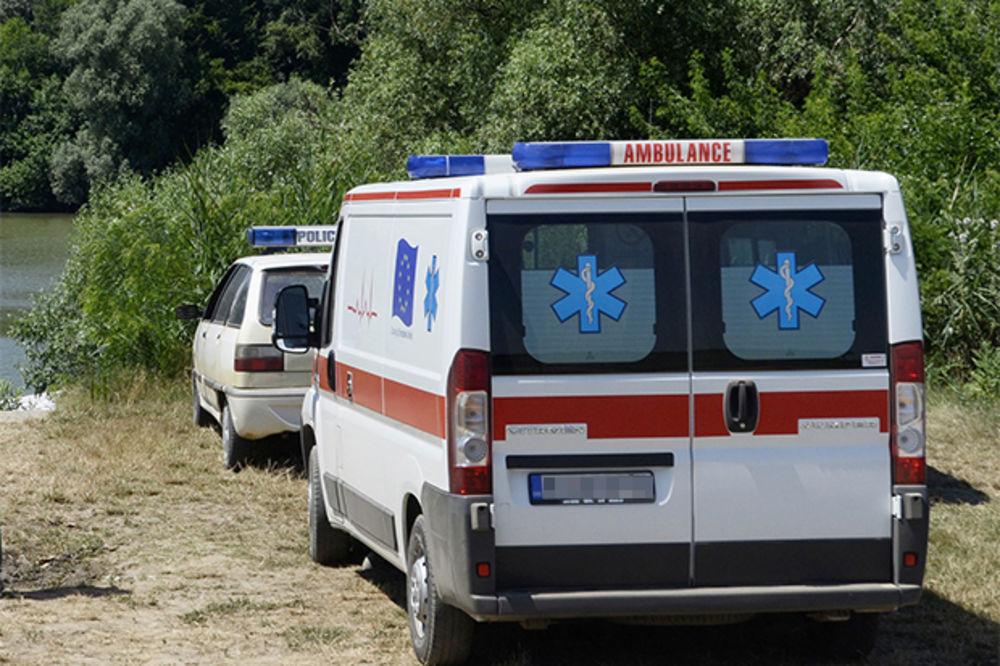 NESREĆA U SREMSKOJ MITROVICI: Poginuo radnik nakon pada sa merdevina