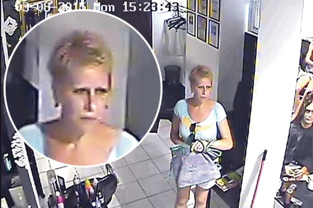 KONAČNO DOLIJALA: Uhapšena žena koja je krala novčanike po frizerskim salonima!