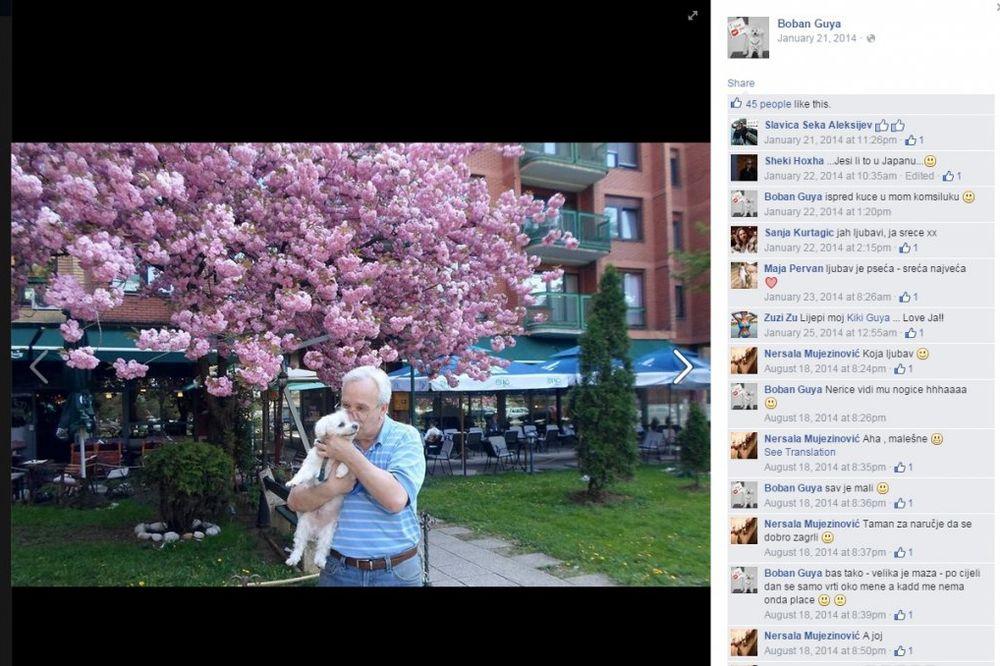 PRIČA KOJA JE POTRESLA FEJSBUK: Ovako se Boban Guja oprostio od svog psića Kikija!