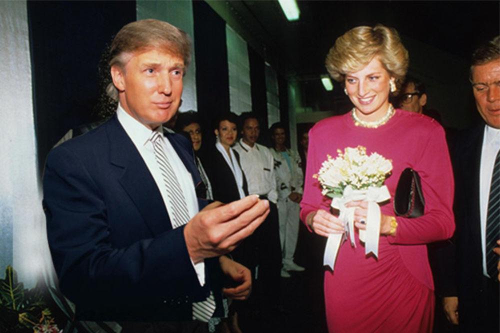 PODILAZILI JE ŽMARCI OD MILIJARDERA: Donald Tramp muvao princezu Dajanu, ona cveće bacala u kantu!