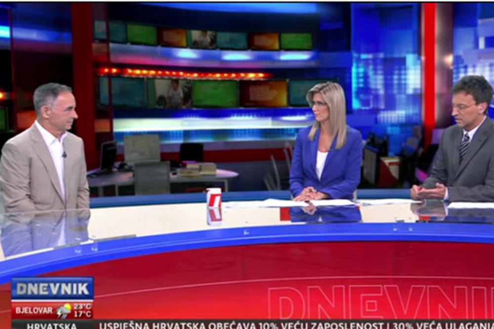 (VIDEO) OVO IM JE VRH NOVINARSTVA: Voditeljku koja je prekinula Pupovca žele za novinarku godine!