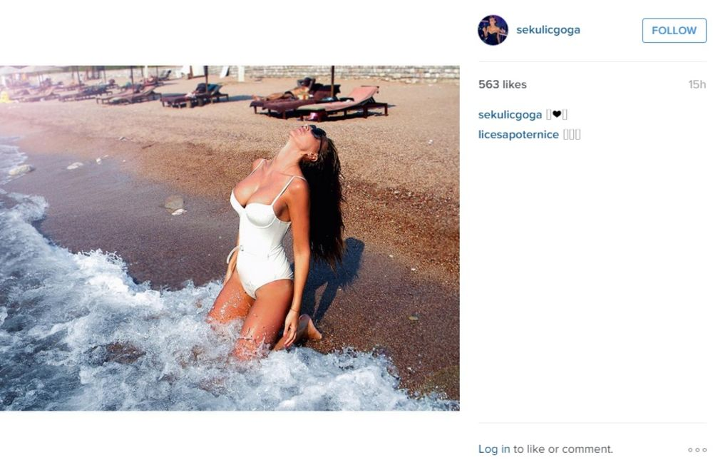 (FOTO) ISTOPILA SE: Goga Sekulić poput svetskih top modela!