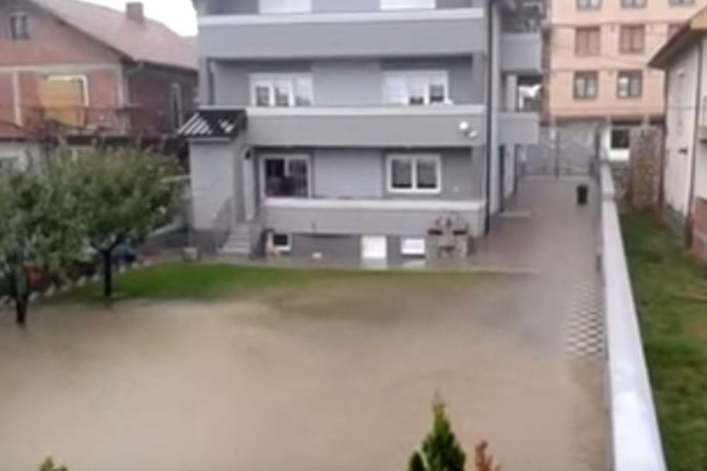 (VIDEO) NEBO SE OTVORILO: Pogledajte kakvo je nevreme pogodilo Novi Pazar!