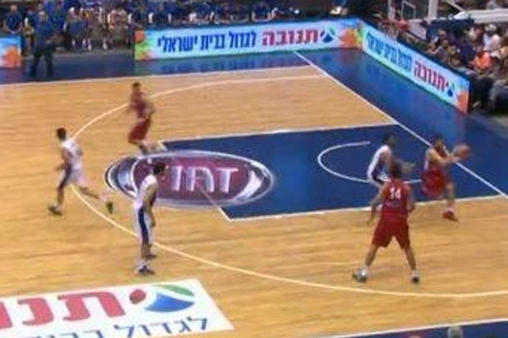 ORLOVI DIŽU FORMU: Reprezentacija Srbije deklasirala Izrael u Tel Avivu