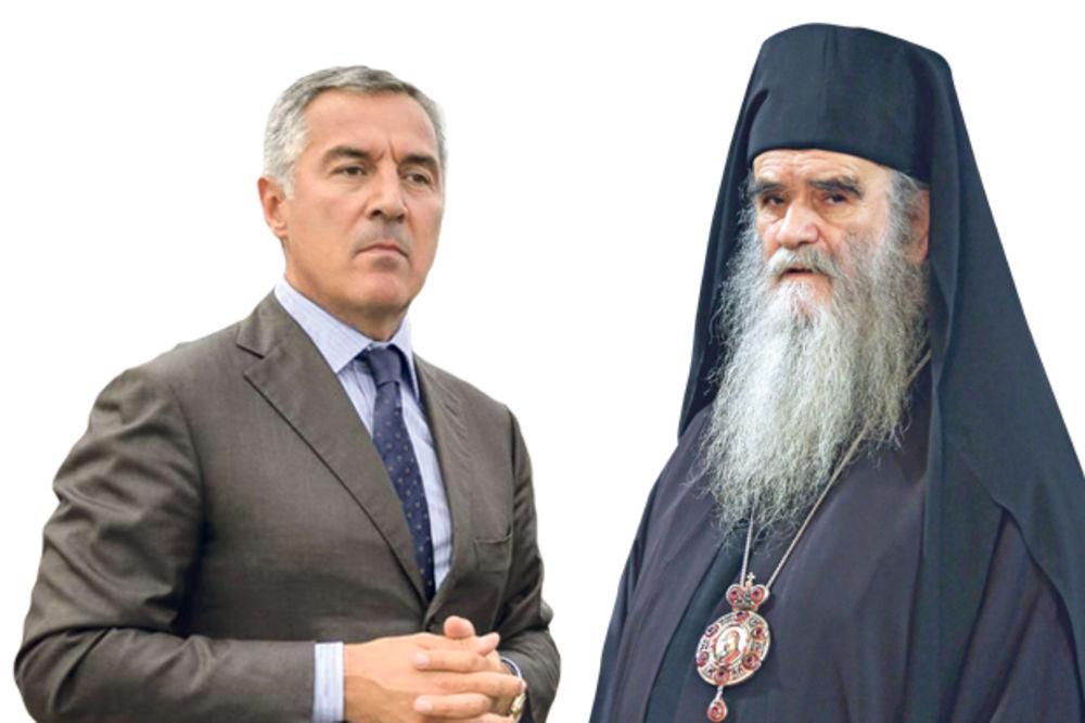 PAKLENI PLAN U CRNOJ GORI: Milo hoće da otme mitropoliju od SPC