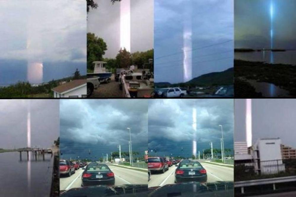 (FOTO I VIDEO) VANZEMALJCI ILI NEVEROVATNA SLUČAJNOST? Čudni zraci svetla svuda po svetu