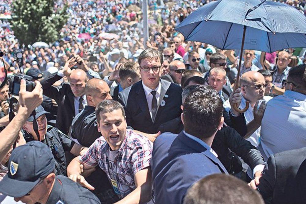 TUŽILAŠTVO BIH: Postoje dva predmeta o napadu na Vučića, istraga obustavljena protiv dve osobe